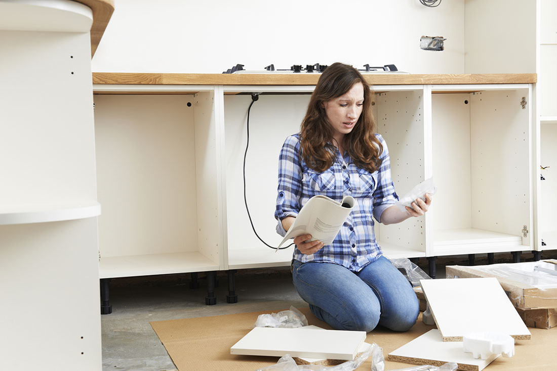 IKIT Kitchens can assemble your IKEA<sup>®</sup> kitchen with ease.